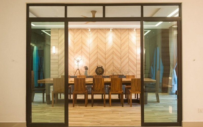 6 ways sliding doors can be used as a design feature