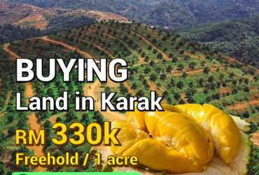 [SALE] THE VALLEY @Bentong, Pahang / 1acre – RM330,000
