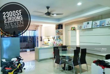 [SALE] SOUTHLAKE @DesaParkcity / 2300 sq.ft / 4R4B / Partially furnished – RM1,850,000