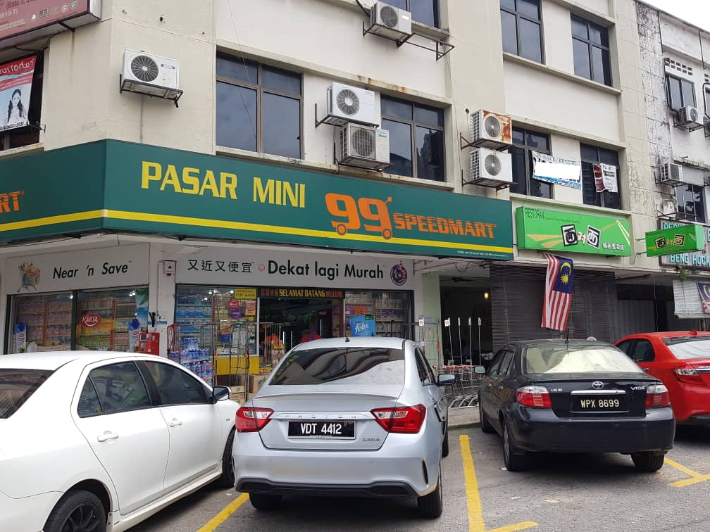 [RENT] Shop Ground & 1st floor @Jalan Tiong, Jln Ipoh Batu 3 / 25 x 90 sq.ft – RM5,000