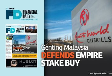 GenM defends Empire stake buy