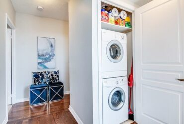 How to create a stylish laundry area in your home