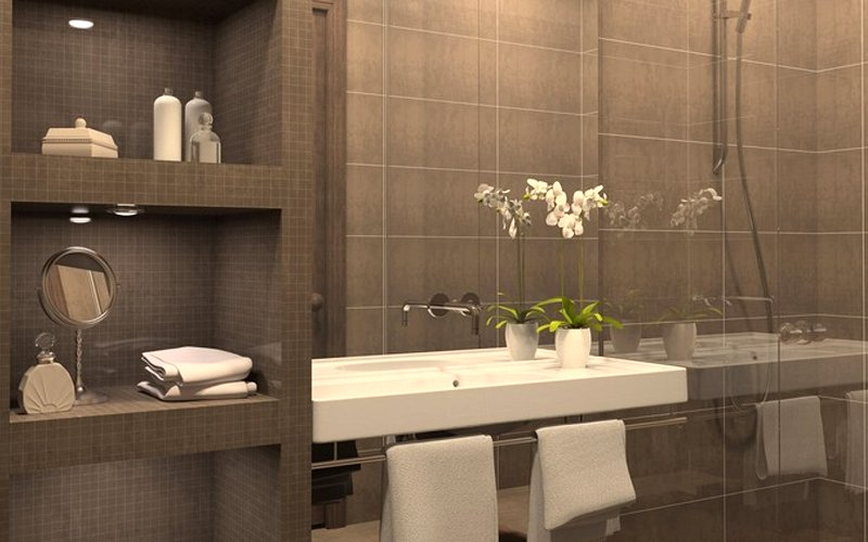 Jazz up a small bathroom with these tweaks