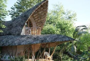 Lotus-shaped house in Sri Lanka forest is a sight to behold