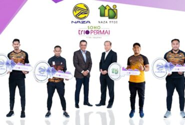 Naza TTDI presents para-athletes with keys to new homes