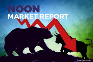 KLCI pares loss on firmer GDP, steadying regional markets