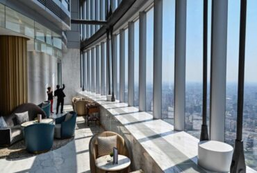 Shanghai's J Hotel is the highest luxury hotel in the world